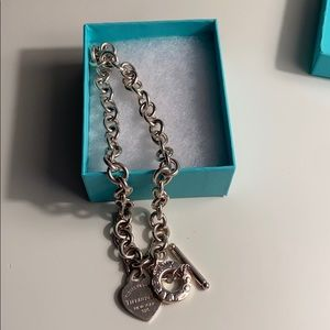 Tiffany's silver necklace
